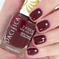 Pacifica Nail Polish in Red Red Wine