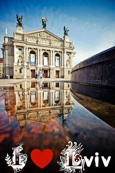 Opera House in Lviv, W Ukraine, from Iryna with love