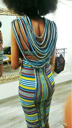 . African Inspired Fashion, African Print Fashion, Africa Fashion, African Fashion Dresses, Fashion Outfits, African Outfits, African Prints, Dress Fashion, African Attire