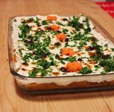 Red Lentil Paste with Yogurt ~ Feyza in the kitchen Turkish Kitchen, Cold Pasta, Iftar, Turkish Recipes, Easy Salads, Lentils, Salad Recipes, Food And Drink, Appetizers