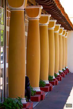 Colunas do Hotel - Poços de Caldas MG Brasil