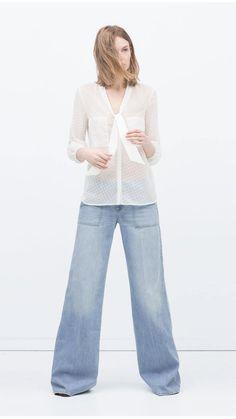 Zara ss2015, vaquero
