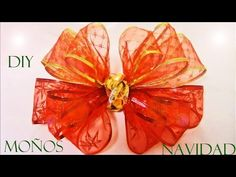 diy moos de navidad fciles y hermosos diy christmas ribbons easy and beautiful youtube