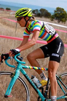 Striped jersey - I think this is an old Vanderkitten cyclocross team kit