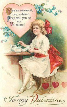 Love, Valentine, Tea