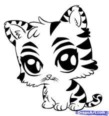 Cute Baby Animal Coloring Pages Free coloring pages for kids