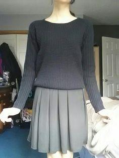 Sweater    [url]: http://www.vinted.com/sh/clothes/15515406-european-black-crochet-sweater