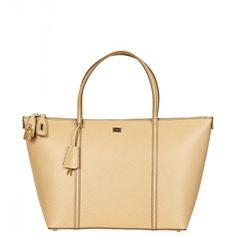Dolce & Gabbana Beige Leather Miss Escape Tote Bag from www.profilefashion.com