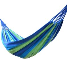 Sports & Entertainment Hammock Swings Portable Outdoor Camping Furniture Stripes Hammock Tent Hanging Sleeping Bed 280cm X 80cm Travel Garden Terrace To Produce An Effect Toward Clear Vision Camping & Hiking