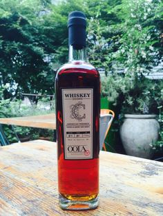 Thanks to our friend Kirby, we were the lucky recipient of a very limited and coveted bottling of Oola Distillery cask whiskey.