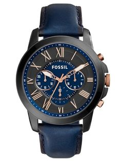 FOSSIL Relógio FOSSIL GRANT   FS5061 Man Watches, Fossil Watches For Men,  Cool Watches 43698ed8dc
