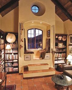 """Quirky (© """"New Built-Ins Idea Book."""" Photo by Charles Miller, courtesy Fine Homebuilding Magazine)"""