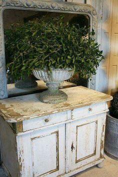 Vintage French, Vintage French Furniture, decor,shabbychic...