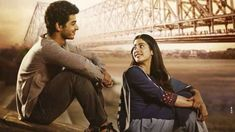Dhadak Romantic Photos, Romantic Couples, Bollywood Actors, Bollywood News, Military Couple Photography, Movie One Day, Cute Couple Selfies, Box Office Collection, Indian Actress Photos