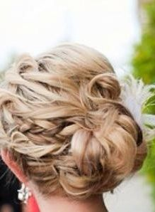 steal the show with a fancy updo like this.