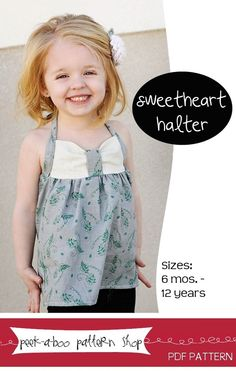 Sweetheart halter...I think I can figure this one out without the pattern