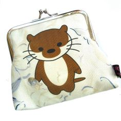 Scampi Moo Otter purse £10 (usually £14) https://www.facebook.com/media/set/?set=a.10152265237744549.1073741826.285705524548&type=1