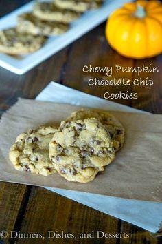 Chewy Pumpkin Chocol