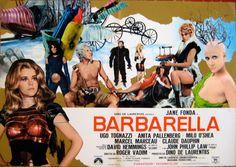 Poster of Barbarella by Roger Vadim, 1968