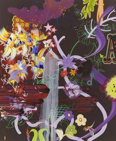 "oil, acrylic and gouache on canvas, 91"" x 75"" (231.1 cm x 190.5 cm), 2006, © Fiona Rae, courtesy Pace Gallery / Photo by: Prudence Cuming Associates Ltd."