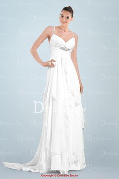 Spectacular Sweetheart Neckline Column Wedding Dress Featuring Crystals and Ruffled Skirt