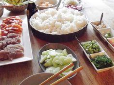 Sushi bowls ingredients