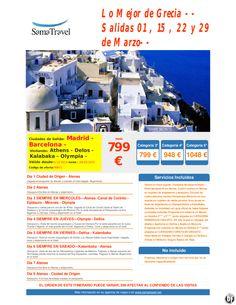 Lo Mejor de Grecia -- Salidas 01 , 15 , 22 y 29 de Marzo-- Cupos Aereos Aegean desde 799 € ultimo minuto - http://zocotours.com/lo-mejor-de-grecia-salidas-01-15-22-y-29-de-marzo-cupos-aereos-aegean-desde-799-e-ultimo-minuto-2/