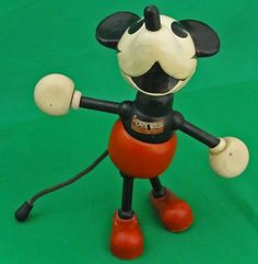 Mickey Mouse Fun-E-Flex toy, 1930s.