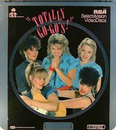 Totally Go-Go's album cover #vintage