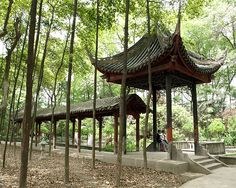✮ Wenshu Monastery Gardens - Chendu, China - This Chinese Zen Buddhist monastery was built in the Tang Dynasty between 605 - 617 and constitutes the finest preserved ancient temple in Chengdu.