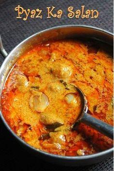 YUMMY TUMMY: Pyaz Ka Salan Recipe - Baby Onion Salan Recipe