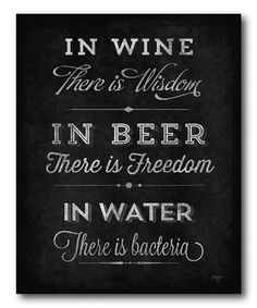 This 'In Wine There Is Wisdom' Wrapped Canvas is perfect! #zulilyfinds