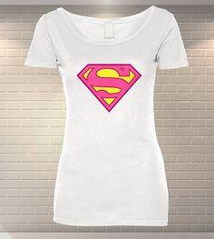 Tricou Dama Personalizat Supergirl   Tricouri Bumbac   Tricouri Ieftine   MeraPrint.ro va pune la dispozitie o gama variata de produse personalizate! Supergirl, Pune