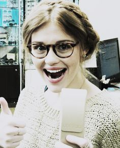 Holland Roden is the perfect Helena everything about her.