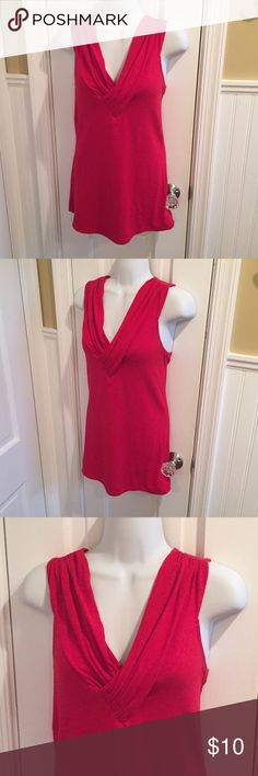 """Express red top About 28"""" long. Express Tops"""