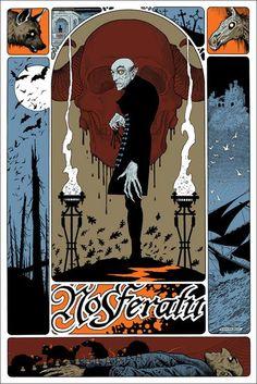 Poster de Nosferatu, ilustración