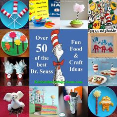 Dr. Seuss Fun Food & Craft Ideas for Kids - Over 50 of the BEST Dr. Seuss recipes, fun food, crafts, and party ideas!