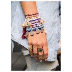 All hand made cuff bracelets, original vintage afghani coins, each one of the bracelets is unique, hand made and one of a kind Fabric Bracelets, Tassel Bracelet, Tassel Jewelry, Bohemian Jewelry, Cuff Bracelets, Jewellery, Pearl Stud Earrings, Pearl Studs, Layered Bracelets