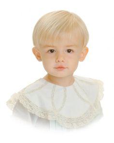 Children's portrait on white