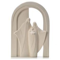 Sagrada Familia Pórtico arcilla refractaria