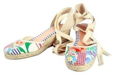 Coach Signature Multi-Color Patchwork Wedges on Tradesy