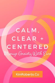 Be Calm, Clear   Centered | Anxiety can be a debilitating experience. This program gives you the tools you need to manage anxiety and navigate the path ahead with courage, confidence and clarity-- without getting stuck in a whirlpool of fear or hopelessness. Each month, you'll get access to a new set of tools, skills and practices to help you confront anxiety head-on. | heal anxiety naturally live without fear | mental health awareness exercises | enjoy life again | how to work through… Mindfulness Exercises, Mindfulness Activities, Improve Mental Health, Good Mental Health, Anxiety Relief, Stress Relief, What Causes Anxiety, Anxiety Coping Skills, Life Transitions