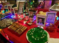 Gotta have Aunt Bethany& jello mold! With pieces of lucky charms in it. Christmas Party Themes, Xmas Party, Holiday Parties, Holiday Fun, Holiday Movie, Tacky Christmas, A Christmas Story, Christmas Holidays, Christmas Movies
