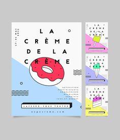 Concept gagnant pour l'exposition des finissants en graphisme du Collège Ahuntsic qui aura lieu au printemps 2016. Projet réalisé à l'automne 2015 en collaboration avec Maxime Soucy et Élyssia Rodeck.