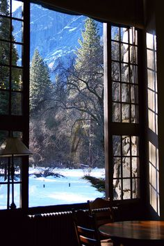 Yosemite - ahwahnee window - 2009 - 122111-1