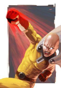 by wyv1 : http://ift.tt/ZmZ4mC  tags : animation animacion anime one punch man opm fanart art arte hero superhero topinterest