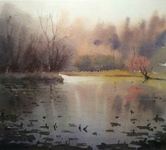 Peter Cronin Watercolor Paintings, Watercolor Ideas, Watercolour, Landscape, Artists, Projects, Photos, Watercolor Painting, Watercolor Artists