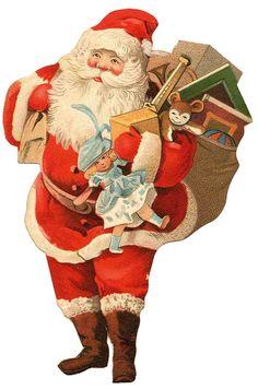 cute santa image