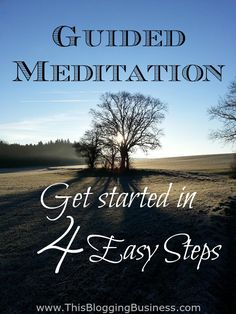 There is no better time to start meditating than now. And meditation isn't hard at all. But if you're nervous about it and think you might fall asleep or something, then just follow these 4 super simple steps to start meditating. Guided Meditation, Easy Meditation, Meditation For Beginners, Meditation Benefits, Meditation Techniques, Meditation Practices, Mindfulness Meditation, Focus Your Mind, Stress Relief Tips
