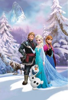 Frozen fans xl mural. Quick and easy way to wake up your girls walls.